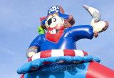 O Castelo de pirata Casa Bouncer insufláveis para crianças CB0701