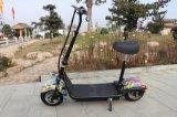 Модные Новые Большие колеса 500W Junior Citycoco Харлей мотоцикл с электроприводом