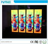 Le double a dégrossi cadre de publicité environnemental d'éclairage LED de photo de Frameless et d'affiche d'étalage de signe