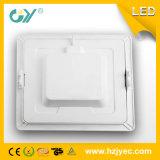 Nuevo producto LED Downlight Square Type Ocultar Instalar Super Slim