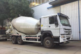 Sinotruk 340HP 10 수출을%s M3 구체 믹서 드럼 롤러 트럭