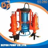 교반기를 가진 원심 전기 잠수할 수 있는 진창 펌프