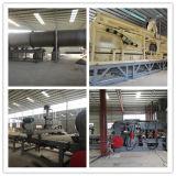 Bois fonctionnant la chaîne de production automatique