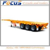 Fokus-Fahrzeug-Skeleton Behälter-Ladung-LKW-halb Schlussteil