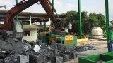 Machine de emballage de rebut hydraulique de bidon en aluminium