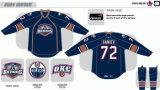 Hokey di ghiaccio americano personalizzato dei Barons 2010-2015 di Città di Oklahoma della Lega di Hockey dei capretti delle donne degli uomini Jersey