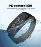 O bracelete esperto o mais novo com o monitor V7 impermeável e da frequência cardíaca