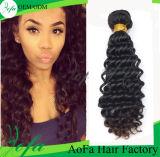 Estensione naturale non trattata dei capelli umani di Remy dei capelli del Virgin di 100%