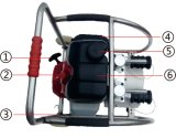 Motor hidráulico portátil (Bomba de transmissão dupla)