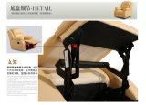 현대 전기 기대는 안마 가죽 게으른 소년 소파 의자