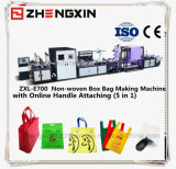 Non-Woven qui prévaut en 3 dimensions Bag Making Machine Zxl-E700