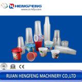 Copa de plástico de inclinación de la máquina de termoformado Hftf-80t-H