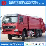 Camion cubici utilizzati dell'accumulazione residua dei tester di HOWO 16m3 16 sulla vendita
