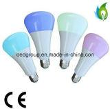 lumière d'ampoule de 6W RGBW Bluetooth DEL avec 2 ans de garantie