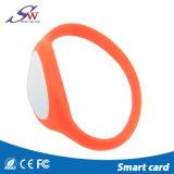 Wristband силикона RFID Hf 13.56MHz Mf 1K цветастый