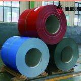 Décoration extérieure de la peinture de couleur aluminium en rouleaux usine en Chine