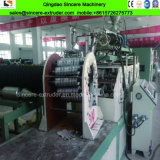 Ligne composée en plastique en acier d'extrusion de pipe d'eaux d'égout de la production Line/HDPE de pipe