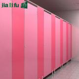 Jialifu billig lamellenförmig angeordnete HPL Toiletten-Partition des Vertrags-