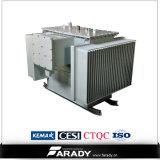 Transformateur d'alimentation stratifié 3 par phases de faisceau de fer