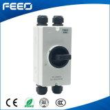 ロータリースイッチ3p 600V 16A中国はDCのアイソレータースイッチを作った