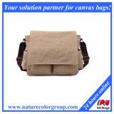 Мешок плеча мешка посыльного холстины отдыха для человека