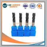 carbure de tungstène solide des outils de coupe fin Mills
