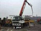 42m verwendeter Masse-Verschiffen 8*4-LHD-Drive 26ton Isuzu-Chassis Putzmeister Pumpen-LKW