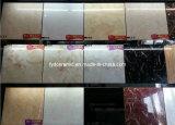 Telha de revestimento vitrificada lustrada do mármore da venda direta da fábrica do Inkjet olhar novo