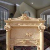 O design tradicional lareira de mármore natural para decoração de interiores