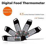 Interruptor automático puxador Digital Instantâneo Leitura de alimentos Termômetro de sonda de carne do forno de churrasco com furo e ímã de suspensão