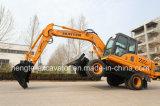 Excavadora de Ruedas de 12,5 toneladas Htl120.