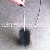 Schwarzer unregelmäßiger Gefäß-Reinigungs-Nylonpinsel (YY-205)