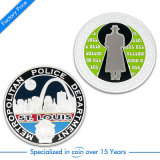 Pièce de métal argenté Souvenirs personnalisés (DK-0165)