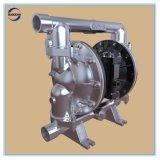 """1-1/2 """" grande pompe à diaphragme pneumatique d'acier inoxydable de flux double"""