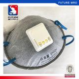 Acticarbon moulé masque de poussière Valved de face de cuvette de 6 plis N95 (usure principale)