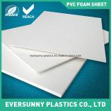 Panneau/feuille matériels de mousse de PVC de PVC de couleur blanche et noire