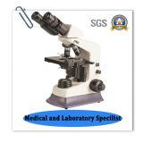 Microscopio biológico del laboratorio de Bz-105 LED
