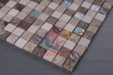 23*23mm Emperador Stone Mix Crystal Mosaic Tile (CS090)