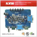 OEMのゲート制御2.4mmの1oz液浸の金PCBのボードアセンブリ