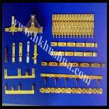 De vrouwelijke Terminals van het Koord van de Uitbreiding van de Bladen van de Stop van het Type UL, het Stempelen van de Precisie van de Fabrikant van de Hardware (hs-tm-523G)