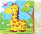 Hölzerner Puzzlespiel-Großhandelsmagnet für Förderung-Geschenk