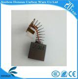 Щетка углерода в форме графита черноты свободно образца высокого качества Donsun для електричюеских инструментов
