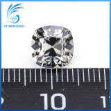 Vvs Clarity Beautiful Grey Colorful Cushion old mine CUT Moissanite Stones