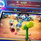 판다 스크린 망치 게임 기계 구속 동전은 실내 오락 게임 적중 아케이드 게임을 운영했다
