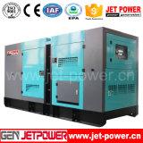 Générateur diesel silencieux chinois de l'engine 100kVA avec la batterie de C.C 24V