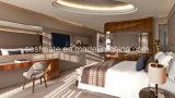 Moderner Stern der Hotel-Schlafzimmer-Möbel-fünf