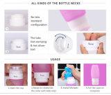 Оптовая торговля 48/78 мл удобно чистить Leak-Proof Food Grade силиконового герметика поездки Установите бутылочки
