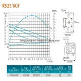 Petite pompe de circulation de servocommande d'eau chaude de famille (RS25/6G)