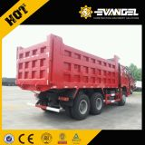 De Vrachtwagen van de Stortplaats van Sinotruk HOWO 6X4 de Vrachtwagen van de Kipper van 25 Ton
