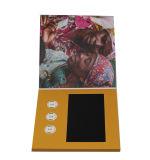 최고 판매 A4 5 인치 영상 인사말 영상 브로셔 카드